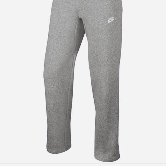 nike sweatpants wide leg